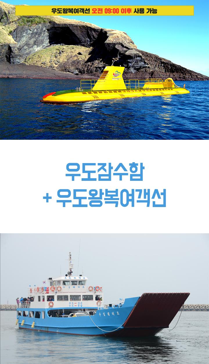 우도잠수함+우도왕복여객선_상.jpg